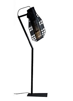 Floorlamp Iron Wire Quadretto