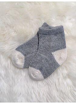 ingugu sokjes uit baby-alpaca-grijs/wit