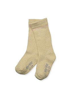 MarMar: knee socks: gold