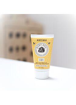 Burts bees: poepjeszalf: cream to powder