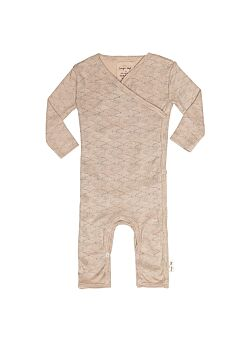 onesie sea shell old rose by Konges Slojd maatje 44 (prematuur)