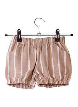 Krutter: Beige striped Carl bloomer
