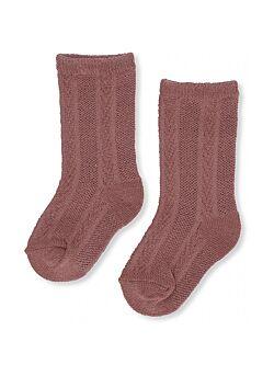 Konges Slojd: sock pointelle: cameo rose
