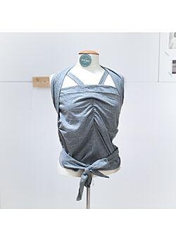 skin to skin shirt/wrap voor tweelingen vija design