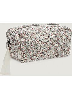 QUILTED TOILETRY BAG: louloudi