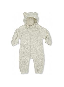 KONGES SLOJD: NEW BORN ONESIE WITH HOOD: MELODIE