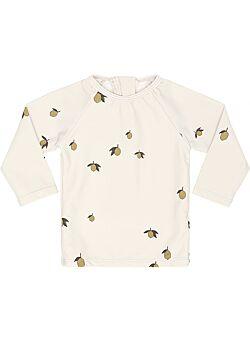 boy uv zwem shirt by konges slojd: lemon 56-62: swimwear