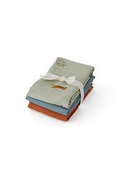 Oyoy: 3-pack muslin doeken: tiger