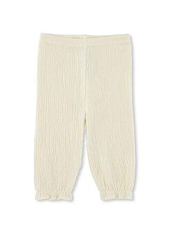 KONGES SLOJD: Chleo pants: off white