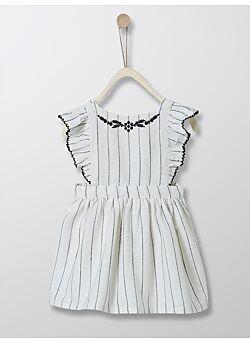 CYRILLUS: gestreepte boho jurk