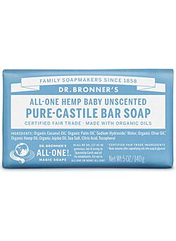 Dr Bronners barsoap baby mild 140gr