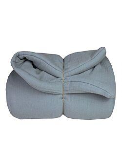 la petite collection: super zacht deken: blauw