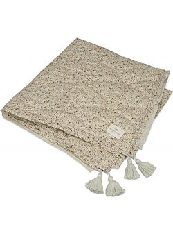 Konges Slojd Babyquilt cotton : speelkleed: flower field