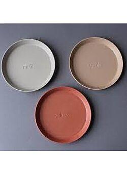 Cink: plate: 3-pack - fog/rye/brick