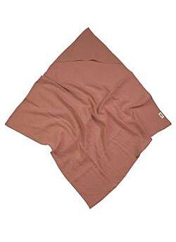 LILLE: muslin hoodie: dusty powder