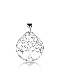 hanger in zilver, levensboom