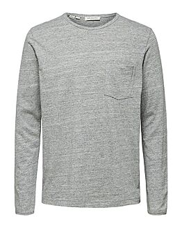 SLHArnold LS O-Neck Tee W