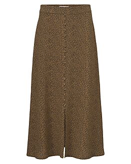 Atlas print skirt