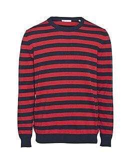 FORREST o-neck striped knit - GOTS/Vegan