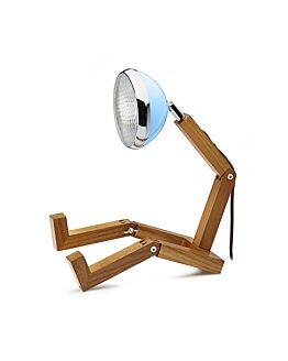 MR. WATTSON G9 LED LAMP OLD HAVANA BLUE