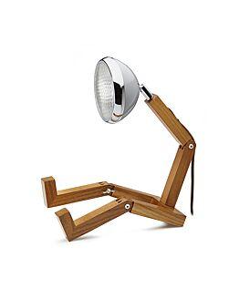 MR. WATTSON G9 LED LAMP NARDO GREY