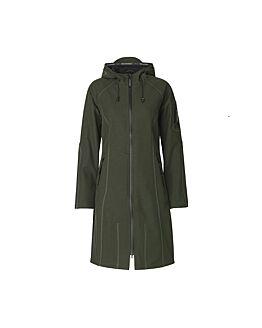 Long Softshell Raincoat