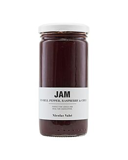 Jam Red Bell Pepper, Raspberry & Chili 290gr.