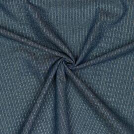 Denim Lurex Stripe