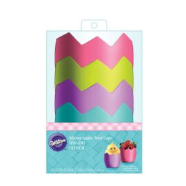 hatched jumbo silicone treat cups - Wilton