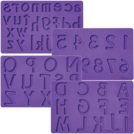 Letter/numbers set - Wilton Fondant & Gum paste molds