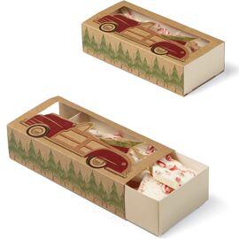 sliding treat boxes - holiday sweet swap - wilton