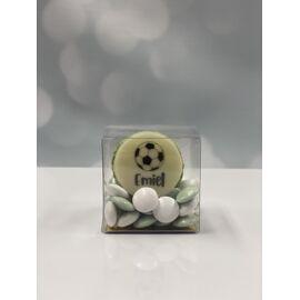 bedankje - macarons met naam/foto