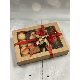 kadodoosje artisanale koekjes en chocolade