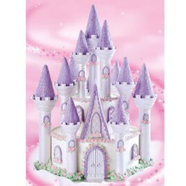 romantic castle cake set - Wilton