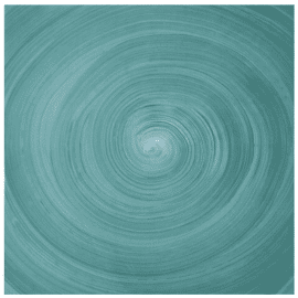 contact paper - turquoise spiral