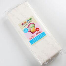 bright white  - rolfondant wit 1kg - Funcakes