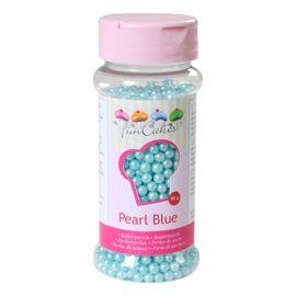 Blauw parelmoer - Suikerparels - FunCakes