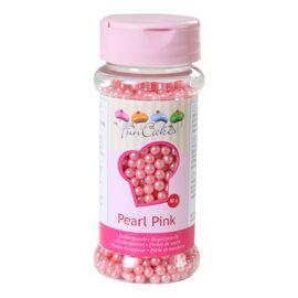 roze parelmoer - suikerparels - FunCakes