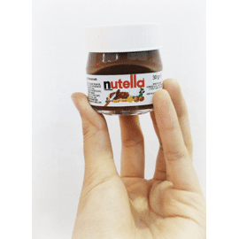mini nutella potjes