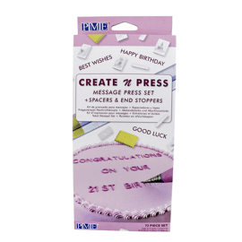 Create 'n press message set