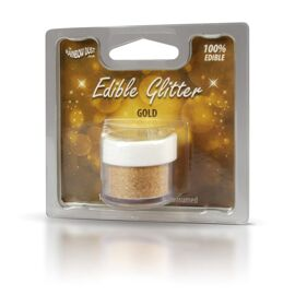 gold - edible glitter - RD