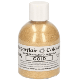 sugar sprinkles 'gold'