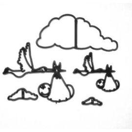 stork & baby cutter