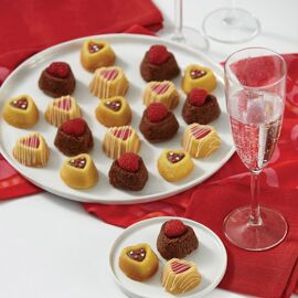 mini heart dessert shell pan - Wilton
