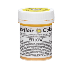 chocolate colour - yellow