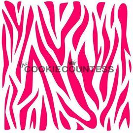 zebra - stencil