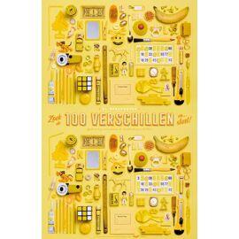 XL Spelposter 100 verschillen / Uitgeverij Stratier