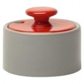My sugarbowl - grijs/rood