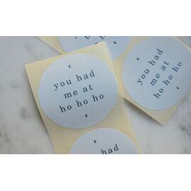 Set stickers - you had me at ho ho ho
