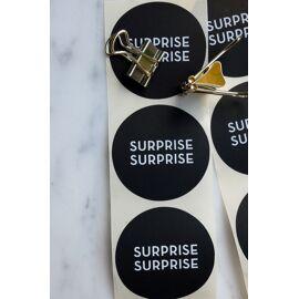 Set stickers - surprise surprise